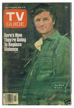 Bernie Fuchs TV guide covers by mattdicke, via Flickr