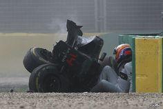 Fernando Alonso überstand einen Horror-Unfall in Australien unverletzt