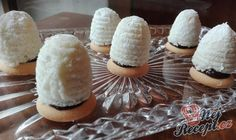 Czech Recipes, Ethnic Recipes, Four, Christmas Cookies, Sweet Recipes, Camembert Cheese, Cupcake Cakes, Cupcakes, Sushi