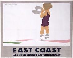 Modern Printmakers: Tom Purvis ( British, 1888 - 1959) It's quicker by rail