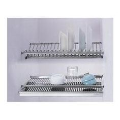 Choosing wholesale  embedded dish drainer 2-tier stainless steel plate bowl cup drying rack inside kitchen cabinet tableware organizer online? DHgate.com sells a variety of Storage Boxes & Bins for you. Buy now enjoy cheap price.