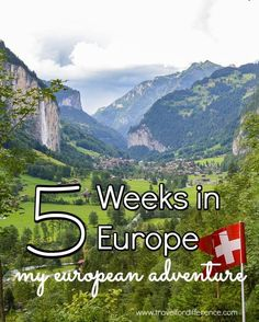 Here's my 5 Week Europe Itinerary, for anyone looking for some inspiration on how to spend their European Holiday. #SummerinEurope #EuropeItinerary #Europe #5WeeksInEurope #EuropeanSummer