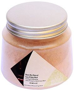 Nyah - Neem and Mint Face Mask - 125gm * Details can be found by clicking on the image. #makeup