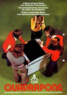 Atari Quadrapong 1974