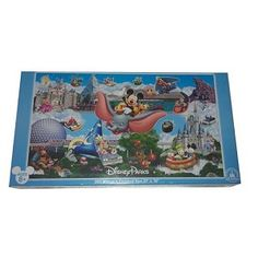 Disney Puzzle - Walt Disney World - Theme Park Icons