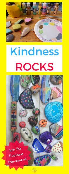 Kindness Rocks|Proje
