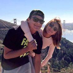 """San Francisco ❤ #DanielPadilla #KathrynBernardo #KathNiel"" Couples Vacation, Vacation Trips, Vacations, Kathryn Bernardo Outfits, Couple Photoshoot Poses, Ford, Daniel Padilla, Jadine, Sweet Couple"