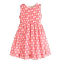 Girls' organdy dot dress, flower girl  #myshoestory #jcrew #weddinginiceland
