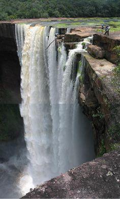 Kaieteur Falls, the world's highest single drop waterfall (741 feet) - Guyana