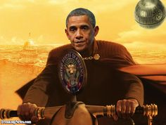 Il presidente Obama Volante in Star Wars