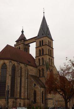 Kirche in Esslingen, Foto: S. Hopp
