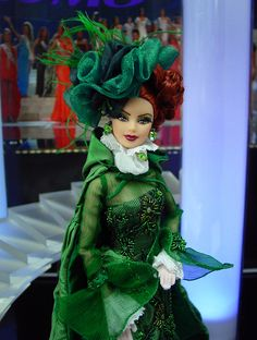 Miss Ireland Barbie Doll 2013