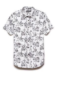 Floral Print Shirt | 21 MEN #21Men | I know it's for men, but I would wear it.