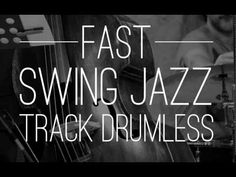 Fast Swing Jazz Drumless Backing Track