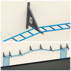 NEW! Inverted pull-up brackets for continuous climb!