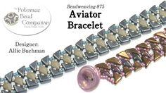Aviator Bracelet with Tango beads #Seed #Bead #Tutorials