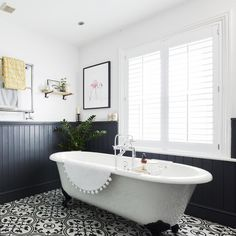 Wall Panelling Ideas For Every Room – From Traditional To with regard to Bathroom Panelling Colour Ideas - Best Home & Party Decoration Ideas Wood Panel Bathroom, Bathroom Paneling, Wall Panelling, Painted Wall Paneling, Wood Wainscoting, Wainscoting Styles, Family Bathroom, Budget Bathroom, Bathroom Ideas