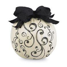Halloween Bling Pumpkins - Black & Cream review | buy, shop with friends, sale | Kaboodle