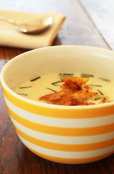 Cauliflower soup And other soup recipes