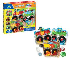 My First Creative Collage Monster Trucks by Orb Factory - $9.95
