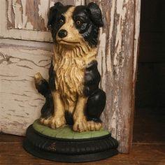 Cecil the Dog Doorstop - Cast Iron