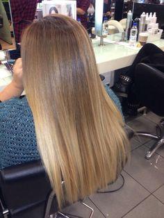 Khloe kardashian hair by Georgia Tsarouxi #ombre