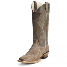 Ariat Tan Swirl Catalina Cowgirl Boots - Womens Boot Styles - Cowgirl Boots - Boots