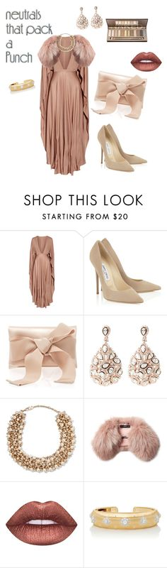 """""""Untitled #183"""" by jennyharris ❤ liked on Polyvore featuring Valentino, Oscar de la Renta, Latelita, Steffen Schraut, Lime Crime and Buccellati"""