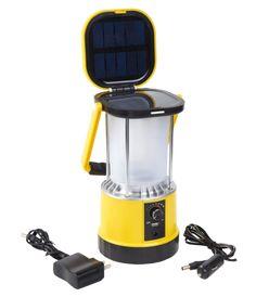 Solar campinglamp multi-oplaadbaar - USBtelefoonlader - KompasDeze zeer degelijkelantaarn is via twee manieren op te laden, dimbaar en voorzien van maar liefst twee solarpanelen. Daarnaast is het een oplaadstation voor jouw telefoon en beschikt hij over een kompas. Onmisbaar bij elke outdoor activiteit!Kenmerken solar LED campinglamp Twee solarpanelenMet auto- en stopcontact oplader Hoge lichtopbrengst, dimbaarUSB-aansluiting om telefoons op te ladenBevat 5 oplaadbare batt...