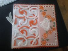 Card pattern was designed by Julie Roces for Parchment Craft magazine