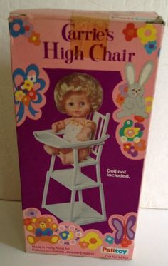 Palitoy Carrie's High Chair Sealed In Box in Dolls & Bears, Dolls, Clothing & Accessories, Vintage Dolls | eBay