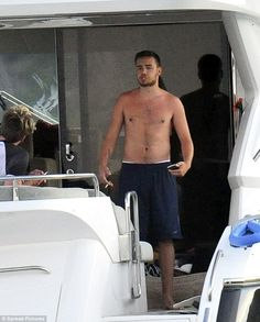 Midday memories:The One Direction star was seen relaxing on board a luxury yacht with his girlfriend Sophia Smith and best friend Andy Samuels as he enjoys time off from his gruelling world tour