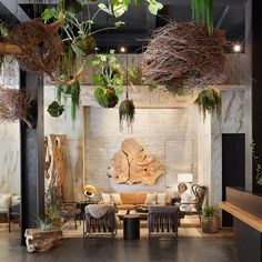 Fall in love with this hotel lobby ideas that will make a statement Hotel Lobby Design, Lounge Design, Spa Design, Design Commercial, Hotel Lounge, Hotel Reception, Das Hotel, Hotel Interiors, The Design Files