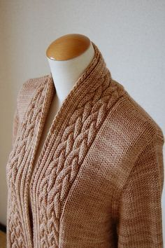 Ravelry: Project Gallery for Kore Cardi pattern by Yoko Johnston