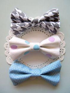 3 Bow Ties