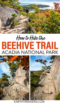 The Beehive Trail is one of the best hikes in Acadia National Park. Here is everything you need to know to have a great hike. #acadia #beehivetrail #hiking #nationalpark
