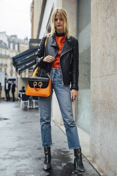 Paris Fashion Week Street Style Spring 2018