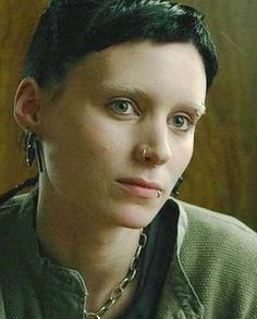 Lisbeth Salander ❤ She may be fictional, but she's amazing.