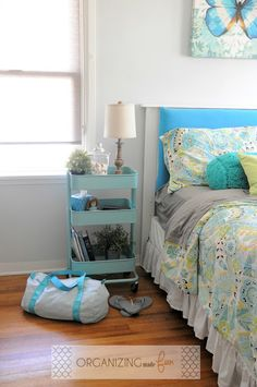 10 3 Copy Cat Chic Room Redo Modern Blue Bedroom Copy Cat Chic Chic