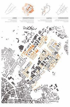 a prize in urban development: © Maurerlechner / Tröger / Hasenstab . - a prize in urban development: © Maurerlechner / Tröger / Hasenstab - Villa Architecture, Architecture Drawings, Architecture Portfolio, Architecture Layout, Architecture Diagrams, Urban Design Diagram, Urban Design Plan, Urbane Analyse, Urban Mapping