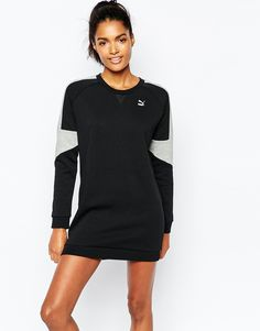 Image 1 - Puma - Robe sweat à empiècements