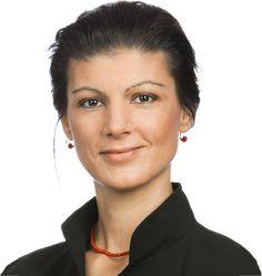 Sahra Wagenknecht liebt Kapitalismus-Kritik.