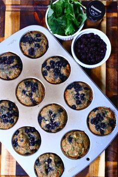 Blueberry Kale Muffi