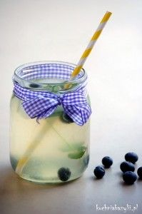 Lemoniada w słoiku   Kuchnia Bazylii
