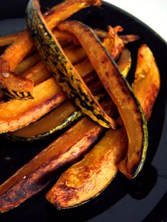 Delicata Fries - toss in a bowl with olive oil instead of using cooking spray.