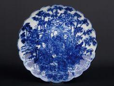 Japan 20. Jh. Teller - A Japanese Porcelain Dish - Arita Giapponese Japonais