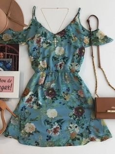 Imagem 1 Cute Dresses, Beautiful Dresses, Casual Dresses, Short Dresses, Casual Outfits, Cute Outfits, Girl Fashion, Fashion Outfits, Womens Fashion