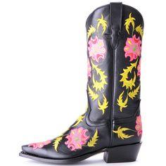 Anderson Bean Macie Bean Floral Cowboy Boots