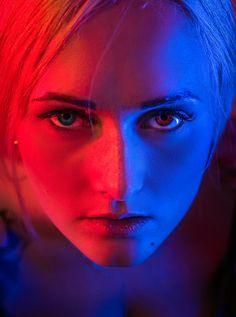 #picture #photo #photography #color #blue #red #portrait