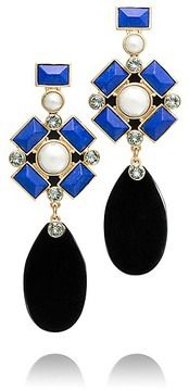 Tory Burch Delphine Statement Earring on shopstyle.com